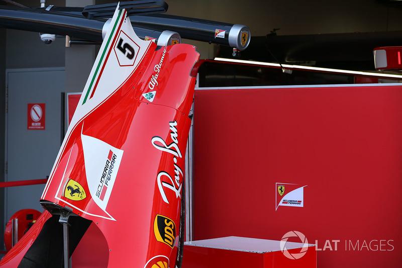 Ferrari SF70H: Karosserie