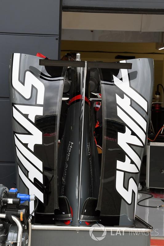 Аеродинамічні елементи Haas F1 Team VF-17