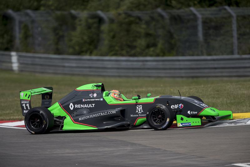 Sacha Fenestraz, Josef Kaufmann Racing