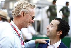 Eddie Irvine and Nicolas Todt