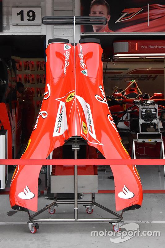 Аеродинамічні елементи Ferrari SF70H