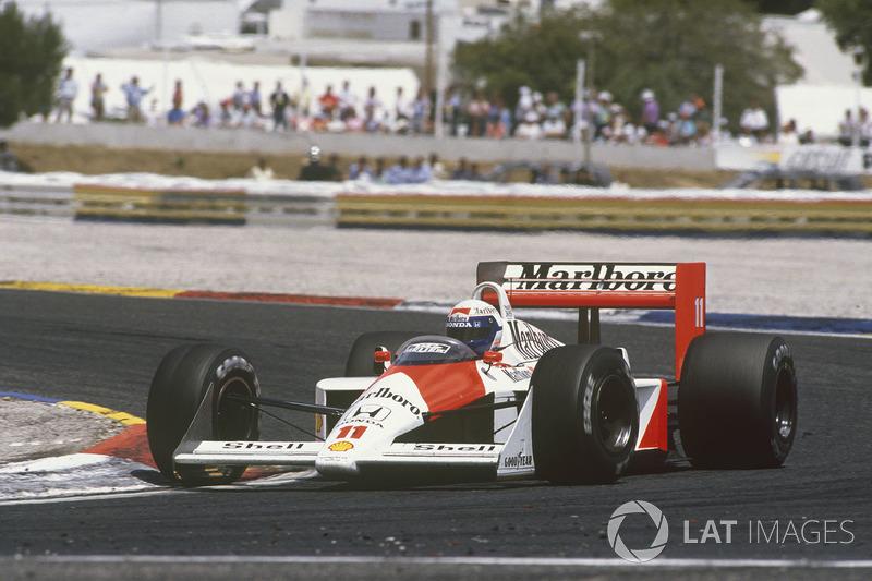 24. Ален Прост, McLaren MP4/4, Гран При Франции-1988 (Ле-Кастелле): 1:07,589