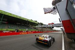 Winners #17 Team WRT Audi R8 LMS: Stuart Leonard, Robin Frijns