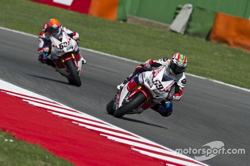 Nicky Hayden e Michael van der Mark, Honda World Superbike Team