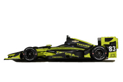 Charlie Kimball Chip Ganassi Racing Team, livery for the Phoenix GP