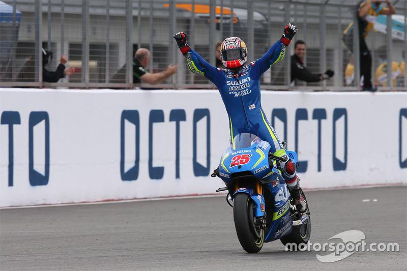 Ganador, Maverick Viñales, Team Suzuki MotoGP