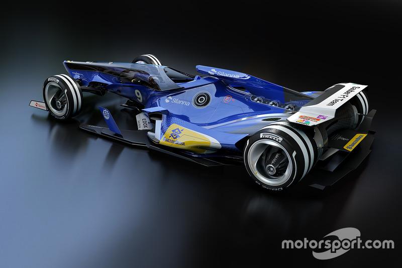Sauber 2030 fantezi tasarım