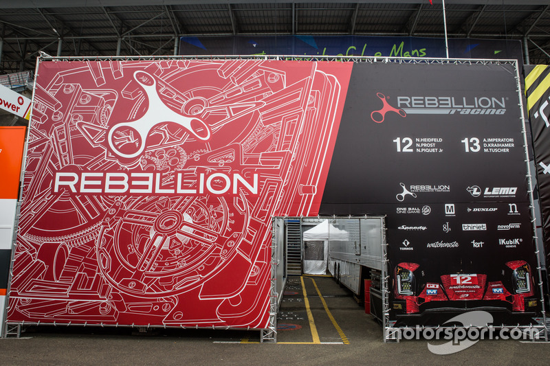 Зона Rebellion Racing