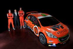 Simone Campedelli, Armando Donazzan, Danilo Fappani, Orange1 Racing, Peugeot 208 T16 R5