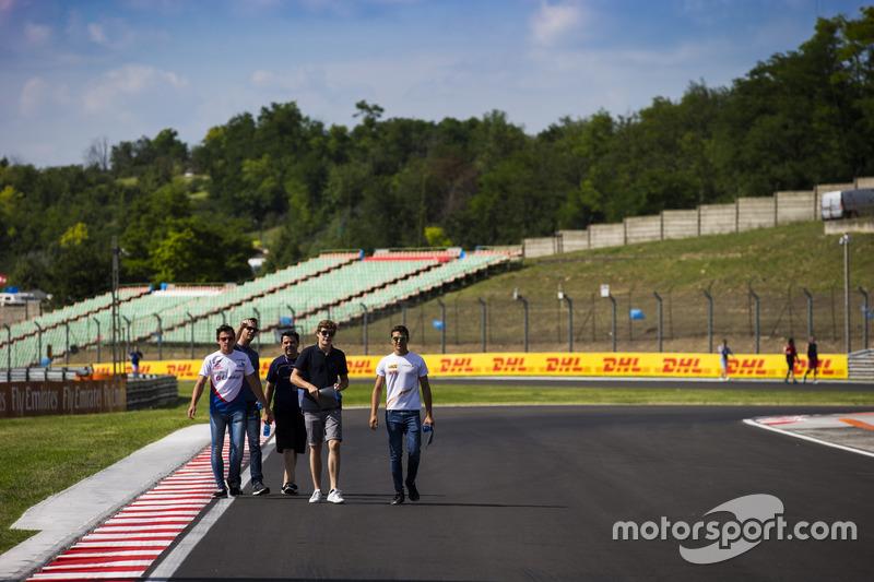 Konstantin Tereschenko, Campos Racing; Steijn Schothorst, Campos Racing and Alex Palou, Campos Racing