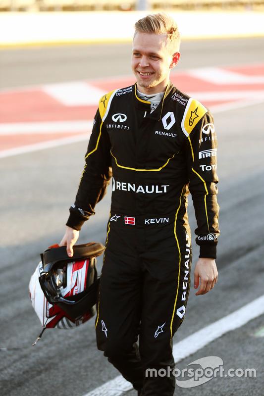 Kevin Magnussen, Renault Sport F1 Team stopt aan het einde van de pitstraat