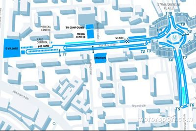 Berlin ePrix layout