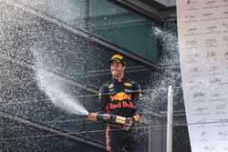 Race winner Daniel Ricciardo, Red Bull Racing