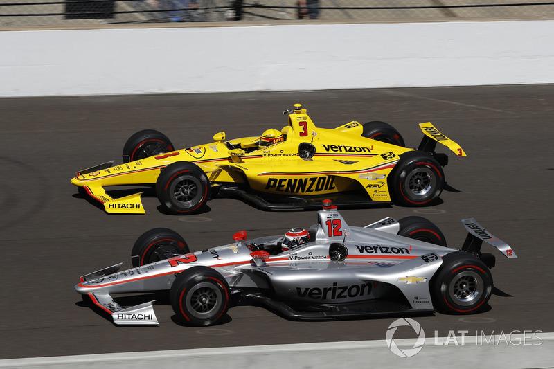 Helio Castroneves, Team Penske Chevrolet, Will Power, Team Penske Chevrolet