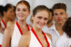 Tag Heuer promotional girls