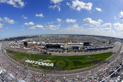 Track Overview during Xfinity race