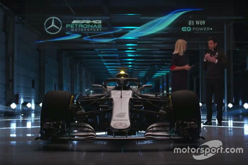 Toto Wolff, Mercedes AMG F1 con la Mercedes AMG F1 W09