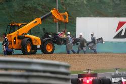 Christian Klien, Red Bull Racing RB2 retired from the race