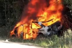 Ken Block Escort on fire