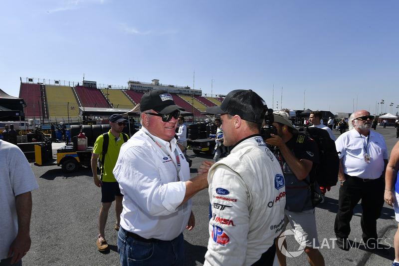 #66 Chip Ganassi Racing Ford GT, GTLM: Dirk Müller e Chip Ganassi