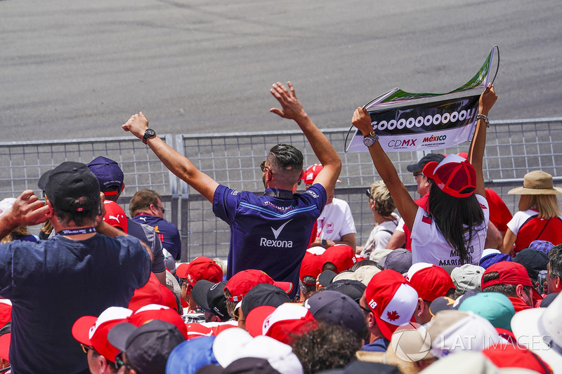 Tifosi di Lance Stroll, Williams Racing