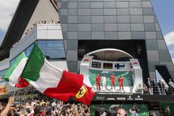 Podio: Claudio Albertini, Ferrari, Lewis Hamilton, Mercedes AMG F1, Sebastian Vettel, Ferrari, Kimi Raikkonen, Ferrari