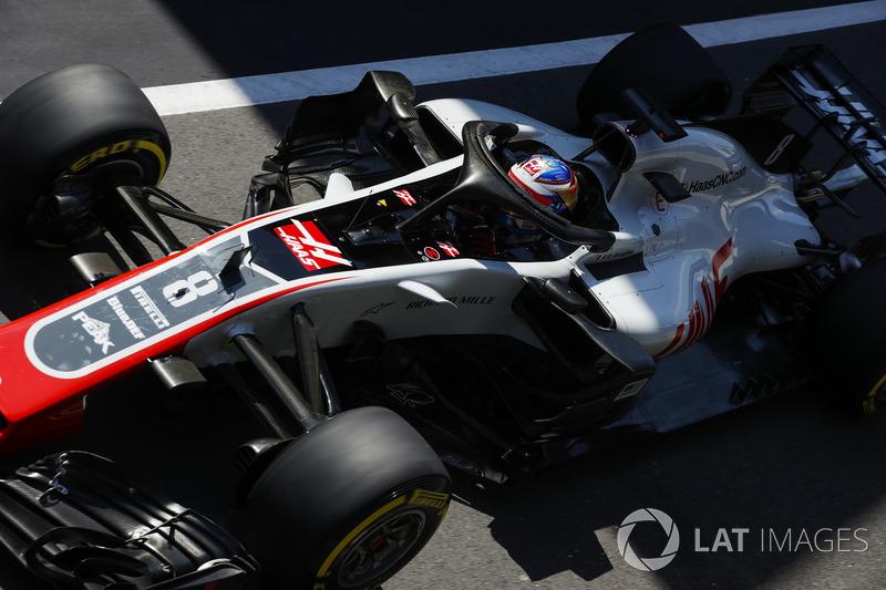 16º Romain Grosjean, Haas F1 Team VF-18 (481 vueltas)