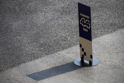 Lewis Hamilton, Mercedes AMG F1 marker