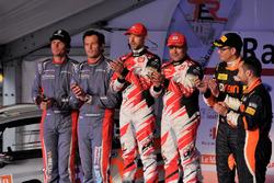 Bernd Casier, Pieter Vyncke, Duimdistel, Giandomenico Basso, Lorenzo Granai, BRC Racing, und Michael Burri, Andersson Levratti, D-Max Swiss