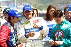 Yarış galibi Ricardo Zonta, 2. Franck Montagny, 3. Rafael Sarandeses