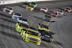 Cody Coughlin, GMS Racing, Chevrolet Silverado Jeg's.com, Kyle Busch, Kyle Busch Motorsports, Toyota Tundra Cessna, Matt Crafton, ThorSport Racing, Ford F-150 FlexSeal/Menards