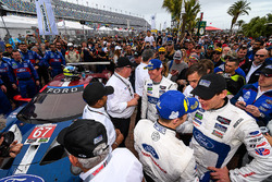 GTML first place #67 Chip Ganassi Racing Ford GT, GTLM: Ryan Briscoe, Richard Westbrook, Scott Dixon