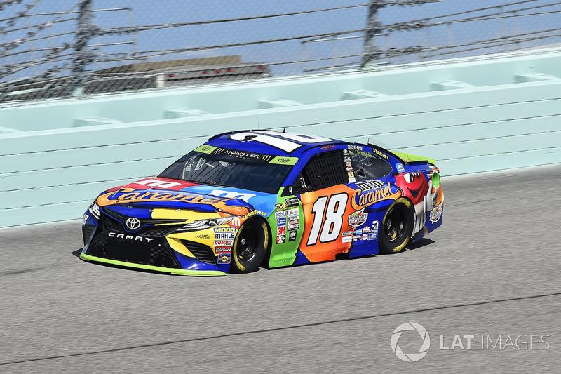 Kyle Busch (Gibbs-Toyota): Zweiter mit P2 im Rennen