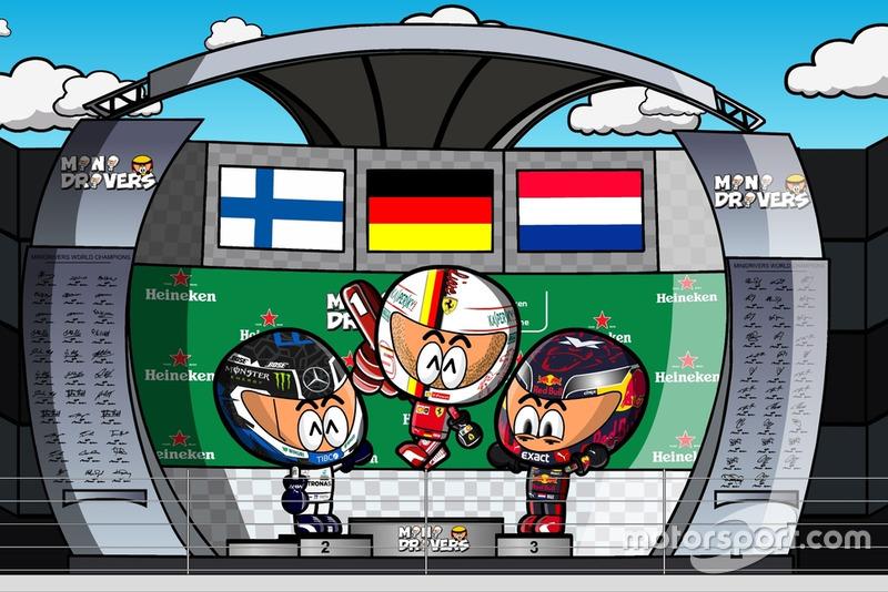 El GP de Canadá 2018 de F1, por MiniDrivers