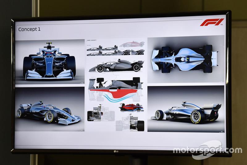Boceto del F1 2021