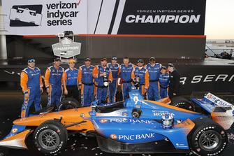 Meisterjubel: Chip Ganassi Racing