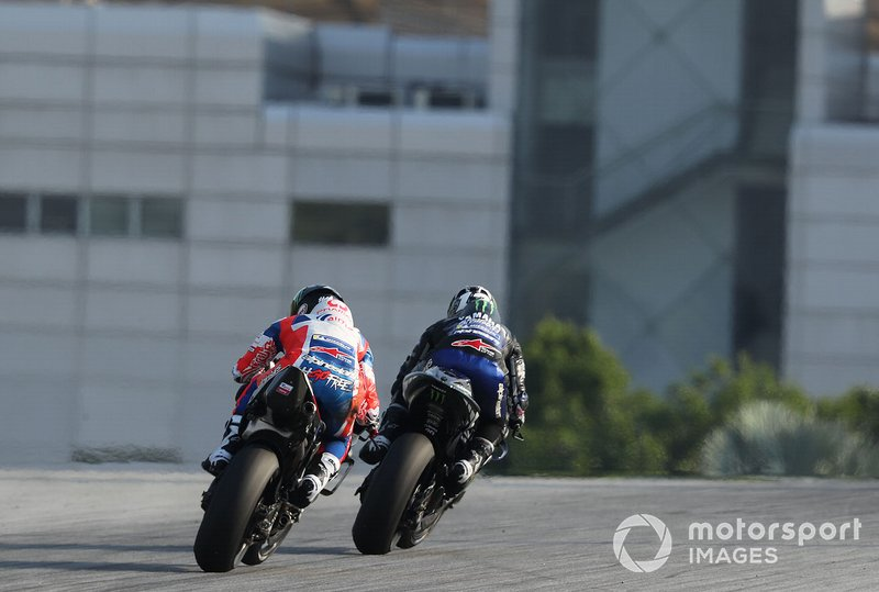 Maverick Vinales, Yamaha Factory Racing, Francesco Bagnaia, Pramac Racing