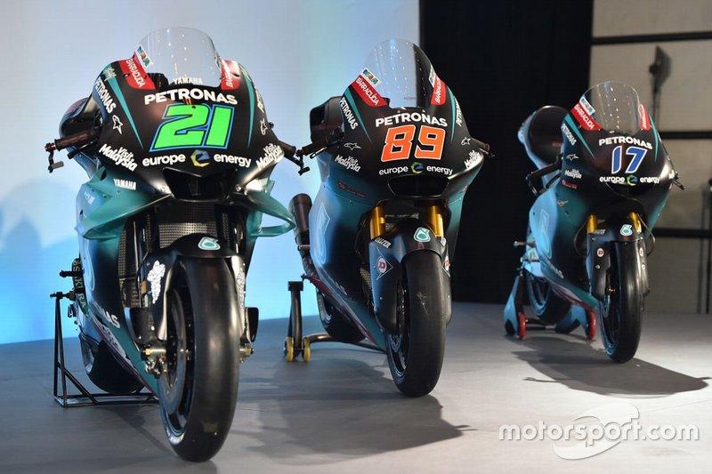Petronas Yamaha lancering