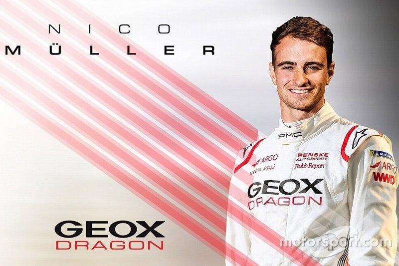 Nico Müller Dragon Racing announcement