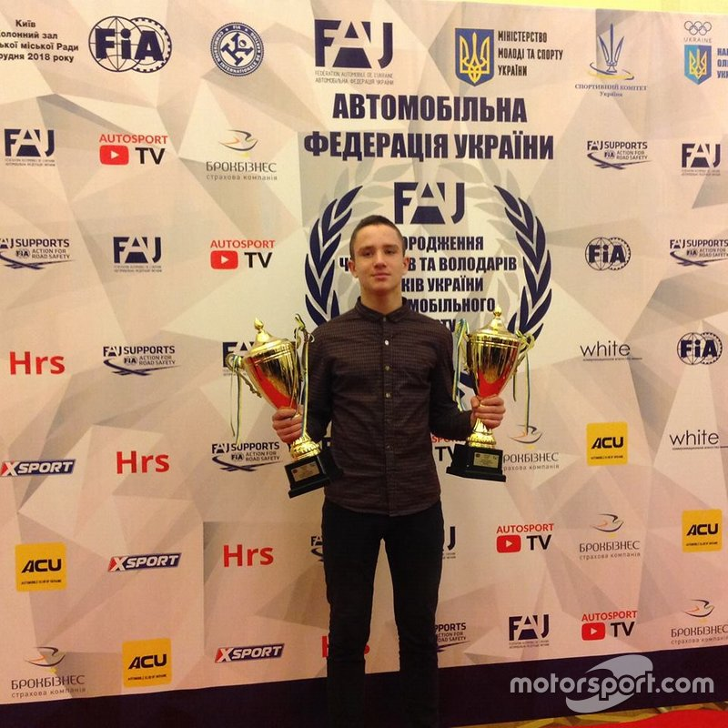 Нагородження учасників Чемпіонату України з картингу
