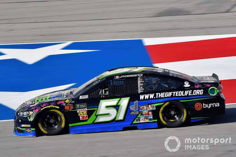 39. Joey Gase, Rick Ware Racing, Ford Fusion Jacob Companies / Donate Life Texas
