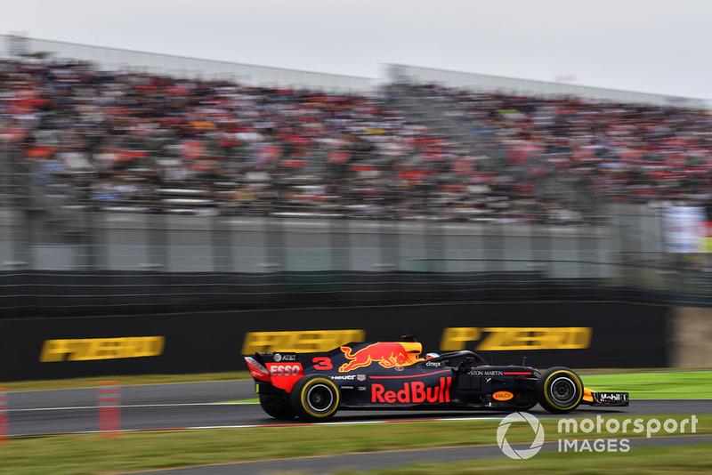 GP de Japón: Daniel Ricciardo (4º en carrera)
