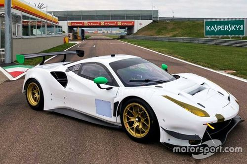 Presentazione Ferrari WeatherTech Racing