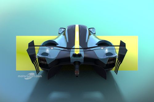 Anuncio del programa hipercoche de Aston Martin