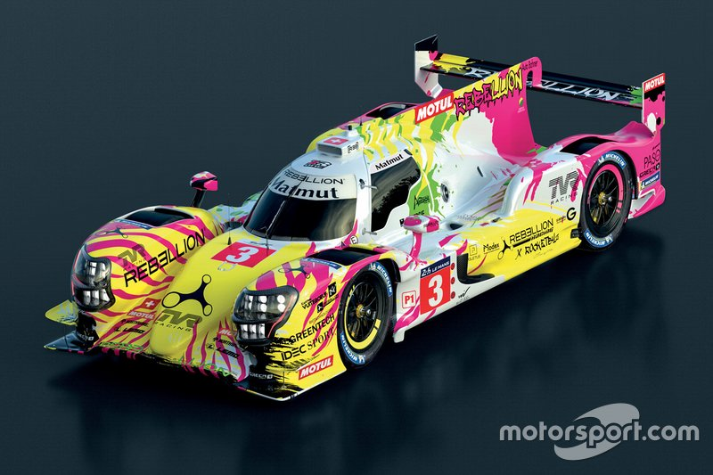 Rebellion Racing livery unveil