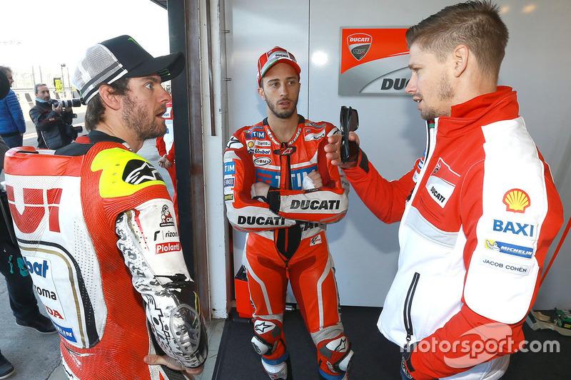 Кел Кратчлоу, Team LCR Honda, Андреа Довіціозо, Ducati Team, Кейсі Стоунер, Ducati Team