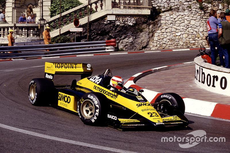 #23: Adrian Campos, Minardi M187, Motori Moderni
