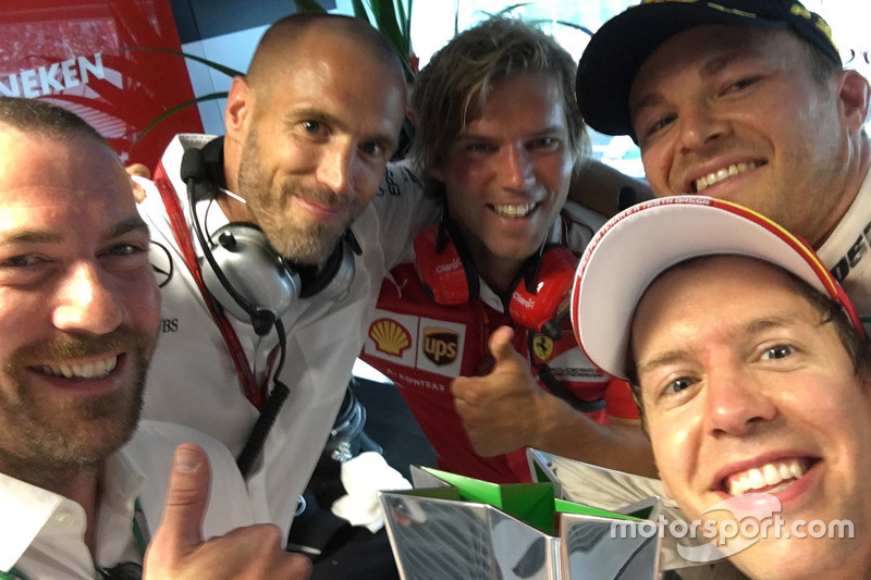 Nico Rosberg, fotografía seleccionada