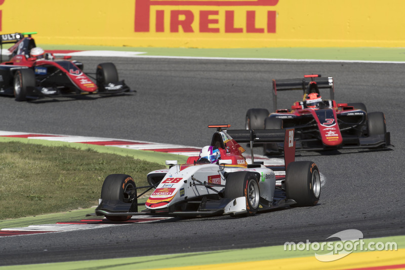 Marcos Siebert, Campos Racing, George Russell, ART Grand Prix
