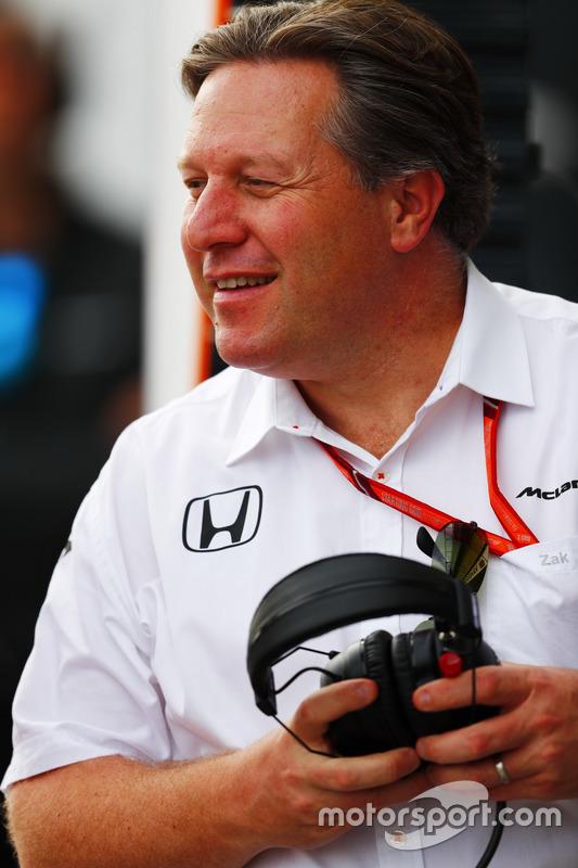 Zak Brown, McLaren-Chef